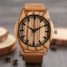 Creative Wood Watch for Men Luxury Wooden Wristwatches Vinta