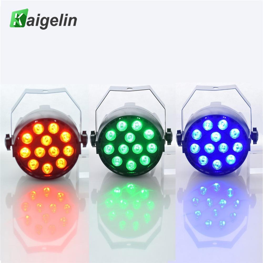 2 pcs/lot LED Par 18W RGB LED Stage Light Par Light With DMX512 for disco DJ projector machine Party Decoration Stage Lighting