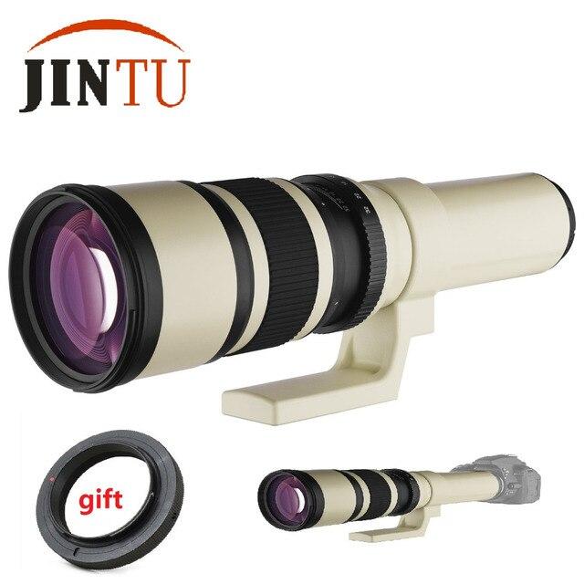Jintu 500mm f/6.3 teleobjetivo fijo/Prime Objetivos para cámaras + ...