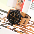 Новый 2016, аутентичные СОКИ, мужской отдых бизнес водонепроницаемые часы, grind песчаные ремешок уникальная застежка, Часы запястье мужчины