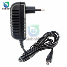 цена на AC to DC Power Adapter Supply Charger Adapter 5V 3A EU Plug LED Lamp Strip Switch Power Adapter 100-240V 1M Length Cable Home