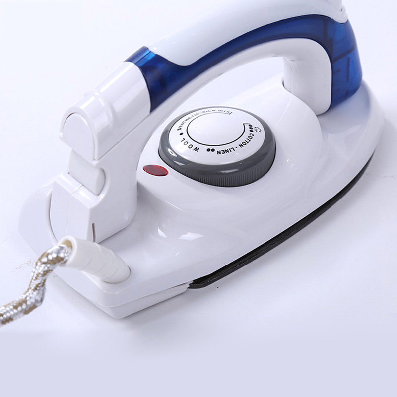 Mini Portable Foldable Electric Travel Iron Steam For Clothes With 3 Gears Teflon Baseplate Handheld Flatiron Electriciron