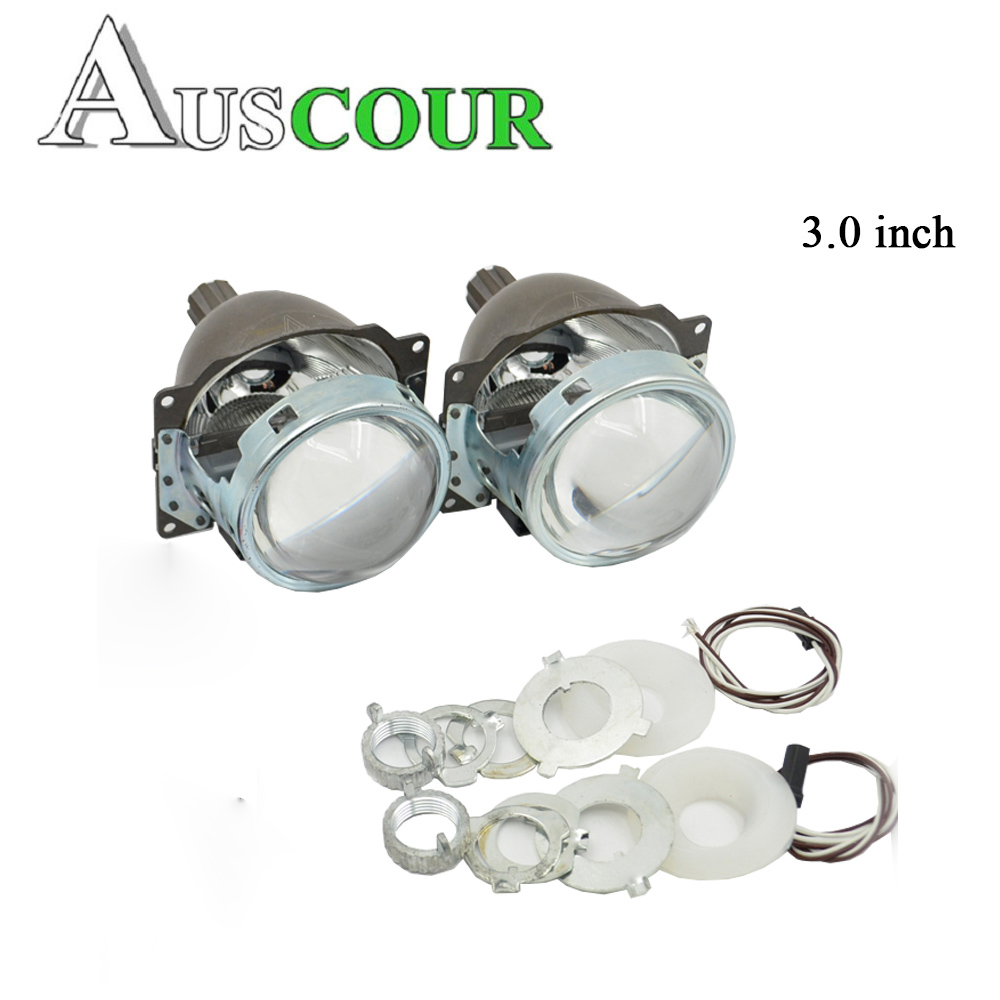 3.0 inch bixenon projector lens Koito Q5 Projector Lens 35W HID Xenon Bulb hid projector lens for H1 H4 H7 H11 9005 9006 Modify gztophid 3 bifocal q5 projector lens 35w hid bulb shroud and high low beam control wire for h1 h4 h7 h11 9005 9006