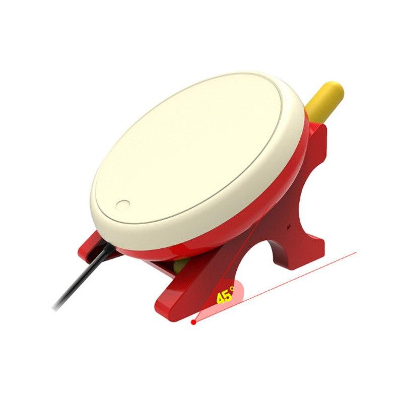 Pour Taiko tambour jeu vidéo baguettes de batterie poignée USB Kit pour n-switch contrôleur Console accessoires de jeu DC 5 V - 5