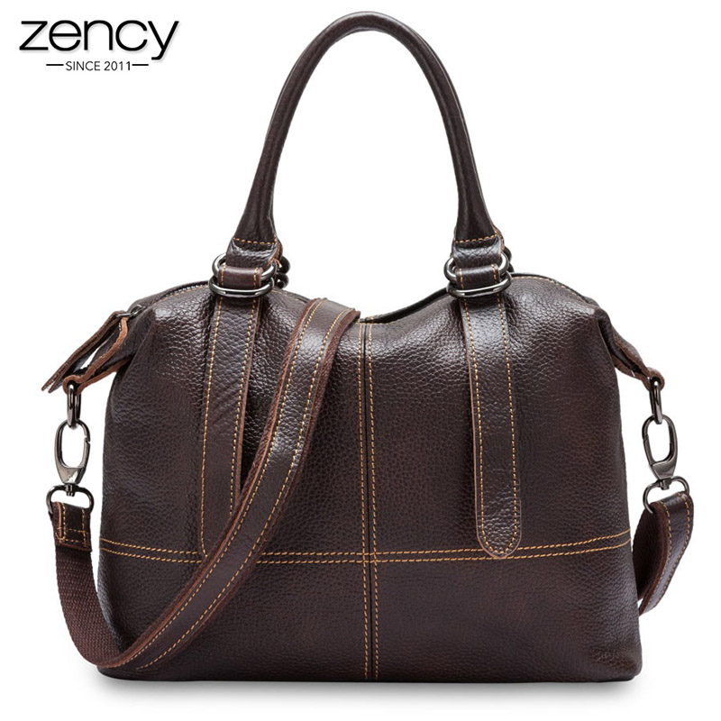 New 100% Cowhide leather woman casual totes Vintage Classic women handbag high quality lady shoulder bag messenger Elegant purse new vintage genuine leather lady shoulder bag fashion portable elegant women handbag hot classic exquisite messenger bag c481