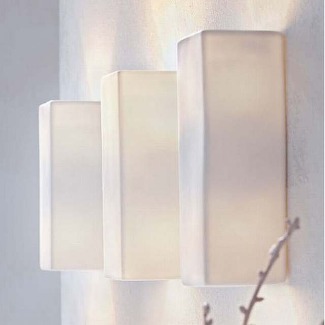 Modern White Wall Beacon Lighting S Nord Brings Scandinavian Porcelain Porch Sconce