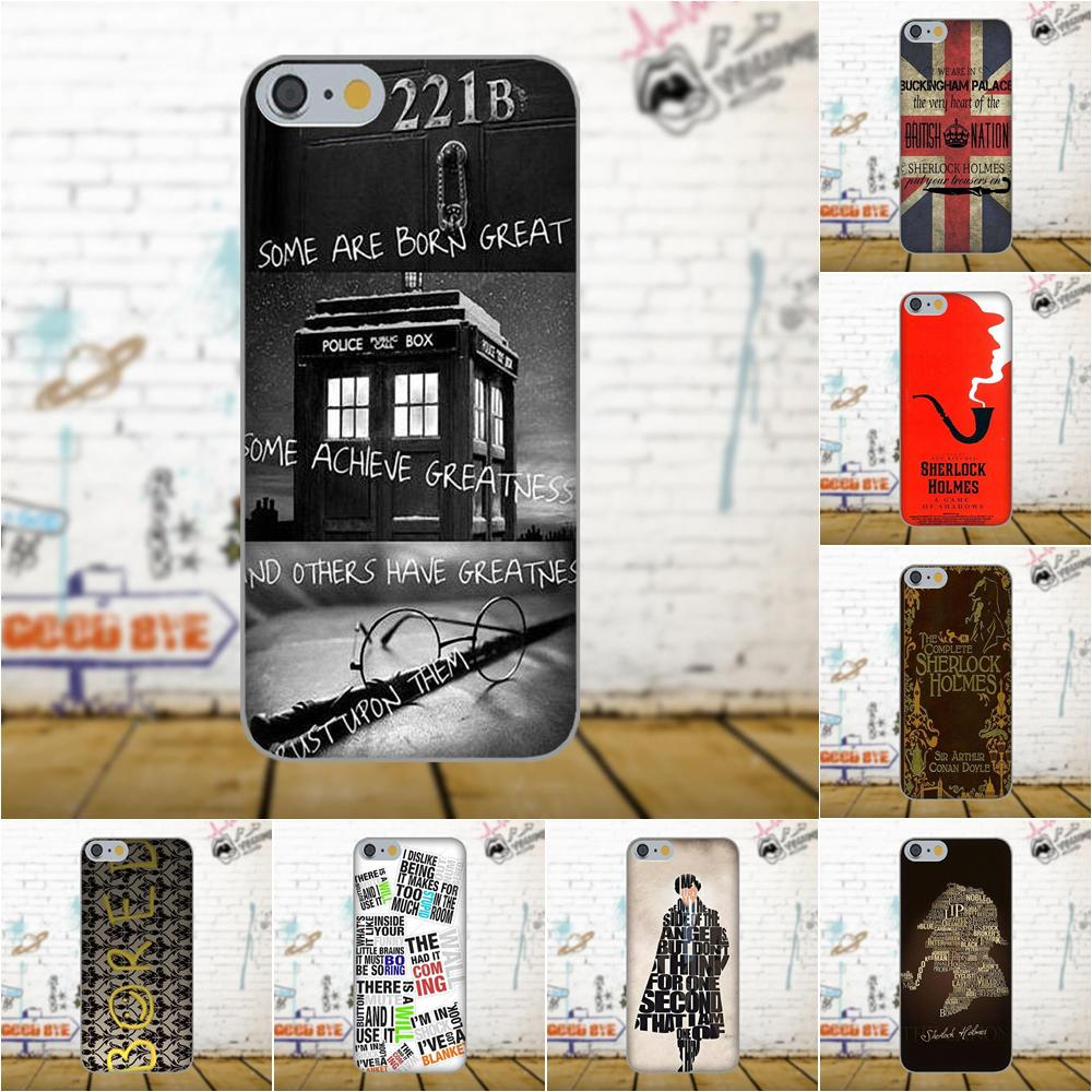 Sherlock Holmes For Galaxy A3 A5 A7 J1 J3 J5 J7 S5 S6 S7 S8 S9 edge Plus 2016 2017 Personalized Phone Shell Transparent TPU