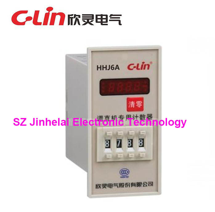 C-Lin HHJ6A New and original Count relay, Bar straightener special purpose counter (replace HHJ8A)