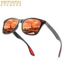KEITHION Fashion Round Polarized Womens Sunglasses Retro Brand Design Mens Glasses Large Frame UV400 Driving
