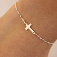 2019 charm cross cross chain bracelet fashion jewelry WOMEN'S bracelets women's bracelet(China)