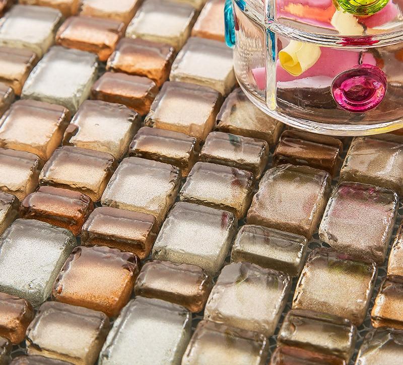 mattonelle di mosaico di vetro-acquista a poco prezzo mattonelle ... - Piastrelle Per Soggiorno Prezzi