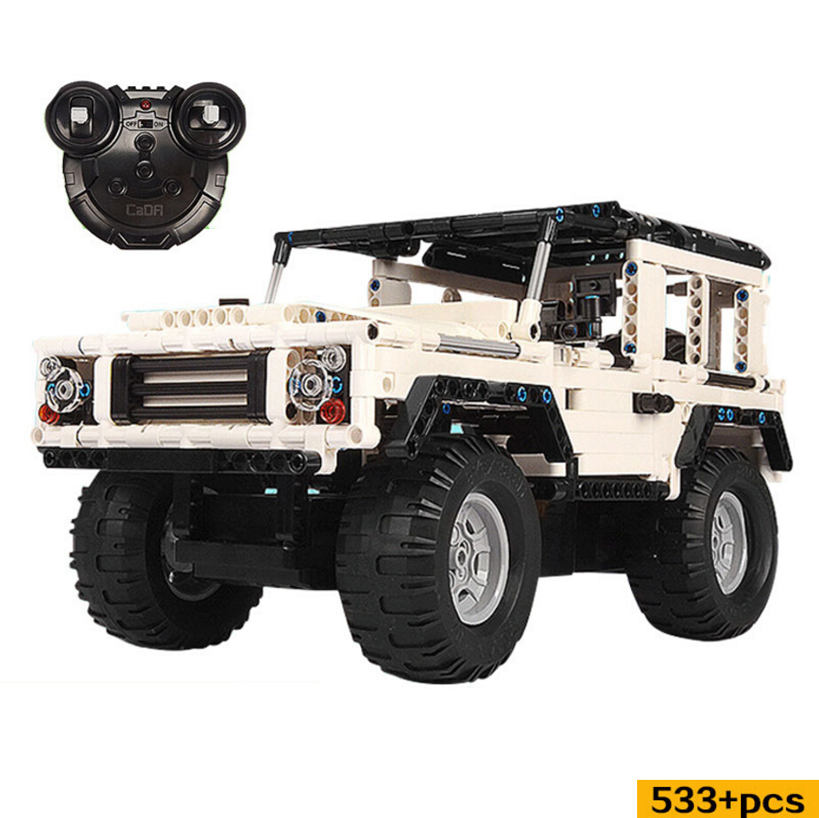 Hot rc famous cars suv land defender rover building block remote radio control toys assemblage model bricks collection for gifts