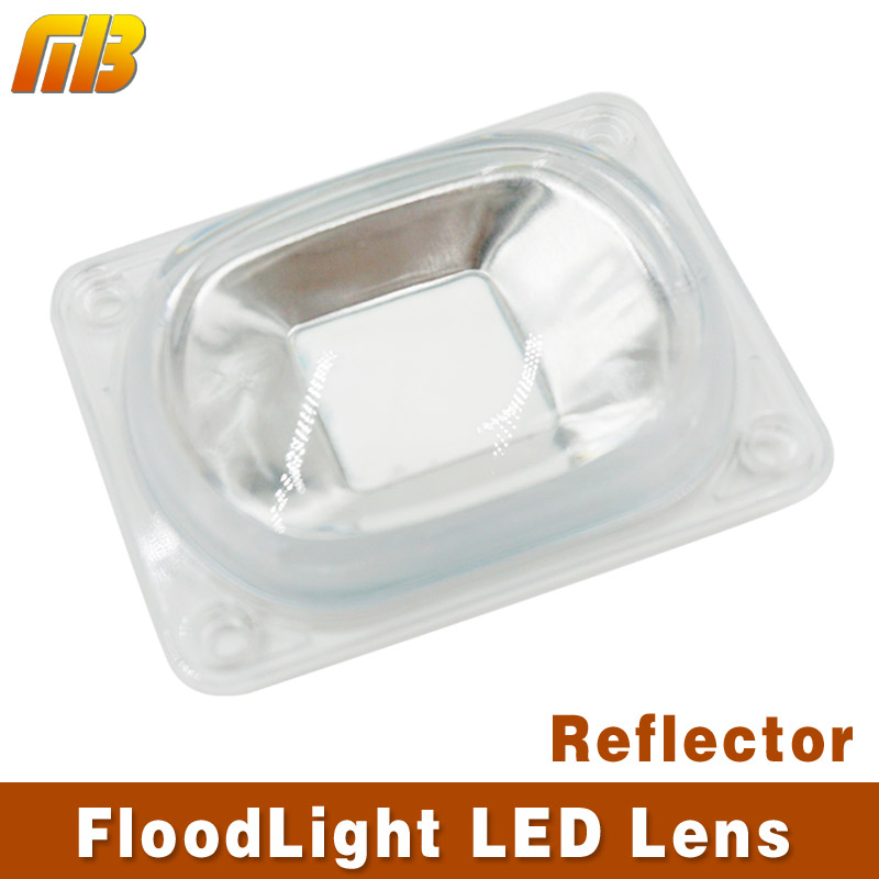 [MingBen] LED Lens For LED COB Lmaps Include: PC lens+Reflector+Silicone Ring Lamp Cover shades Sport Light DIY led chip