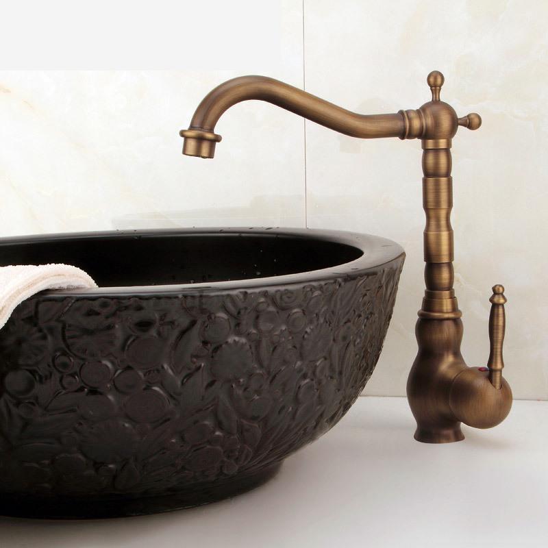 Aliexpress.com : Buy Basin Faucets Antique Bronze Finish