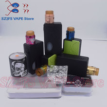 Electronic Cigarette Mech Mod Box Vape Graffiti Color Bypass Mode 24mm 510 Wire Apocalypse Rapture RDA vsStorm ECO Max 90 W