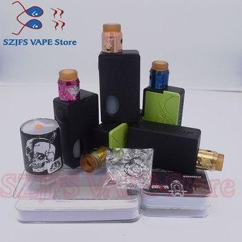 цена на Electronic Cigarette Mech Mod Box Mod Vape Graffiti Color Bypass Mode 24mm 510 Wire Apocalypse Rapture RDA vsStorm ECO Max 90 W