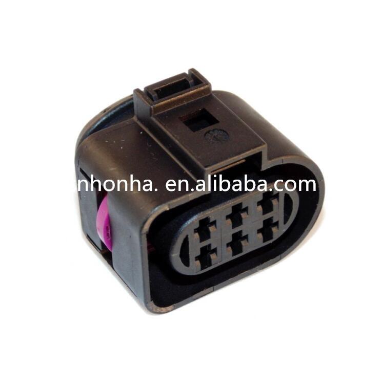 Shhworldsea 5sets 6p 3.5mm Kit Lsu 4.2 Sensor Connector Case For Vw 1j0973733 6-way 350 Plug Connector New Soft And Light Automobiles & Motorcycles