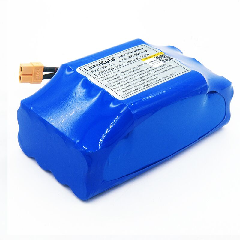 Image 4 - NEW 36V rechargeable li ion battery pack 4400mah 4.4AH lithium ion cell for electric self balance scooter hoverboard unicycle36v 4.4ahbattery pack36v 4.4ah lithium battery - AliExpress