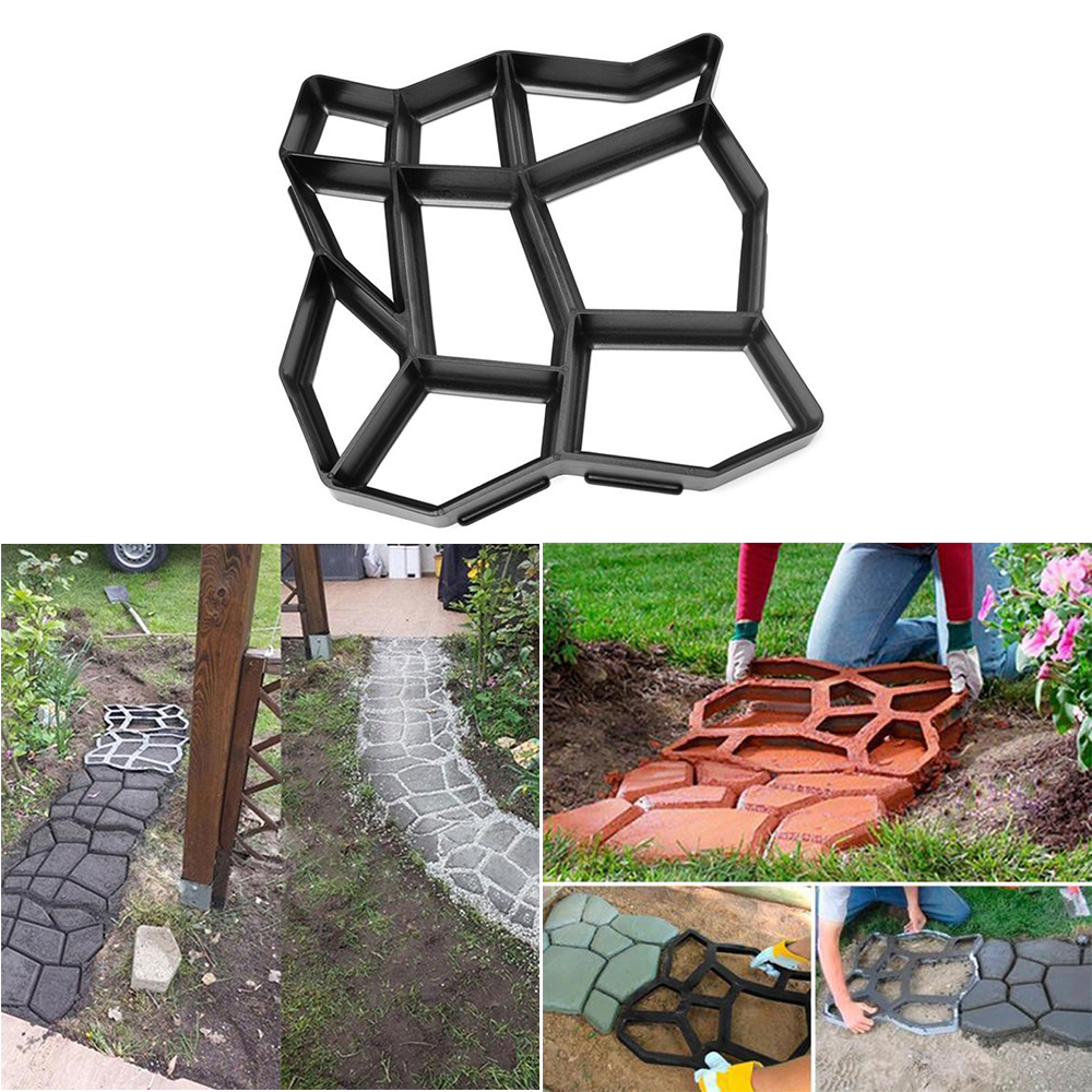 Aliexpress.com : Buy High Quality Cement Mold Driveway Garden Paving  Pavement Concrete Stepping Stone Mold Patio Making Mould From Reliable  Garden Statues ...