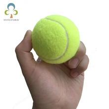 2 шт./лот 6,3 см теннисные мячи для начинающих или тренировка собак на открытом воздухе забавные спортивные игрушки для домашних животных теннисный мяч GYH