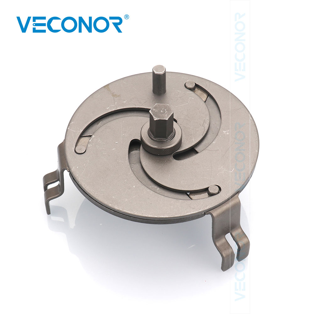 VECONOR 3 Jaws Adjustable Fuel Tank Lid Wrench Removable Device Special Tools For Removing Oil Cover Steam Pump Cover Spanner