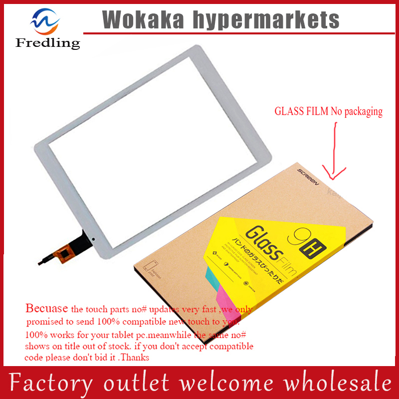 Tempered Glass Protect Film+9.7 inch OLM-097D0761-FPC Ver.2 Touch Panel Screen Digitizer For Teclast X98 Air III 3 tablet 9 7 inch high quality olm 097d0761 fpc ver 2 ver 3 touch panel screen digitizer repair for teclast x98 air iii 3 tablet glass