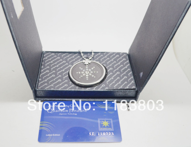 Free shipping 20pcslot stainless steel quantum pendant bio crystal free shipping 20pcslot stainless steel quantum pendant bio crystal quantum science scalar energy pendant aloadofball Gallery