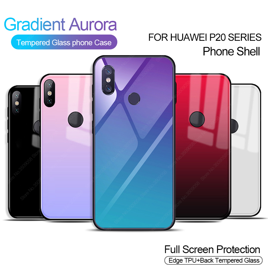 Gradeint Tempered Glass Phone Case For Xiaomi Mi 8 Se 6 A1 A2 Mix 2 Cafele 5x Mi5x Mia1 Clear Hd Protection Pictures 201801