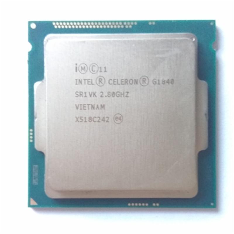 Intel G1840 LGA1150 2 M Cache Dual-Core CPU Processeur LA DPT 53 W De Bureau Processeur g1840 cpu