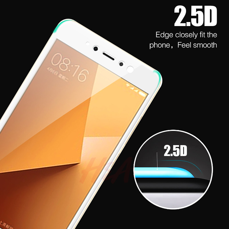 H A Protective Tempered Glass For Xiaomi Redmi Note 5a 5 Plus Screen