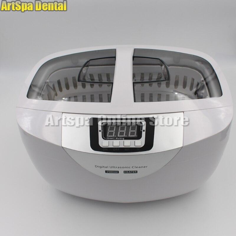 Minuterie de réservoir d'acier inoxydable de bijoux dentaires de tatouage de décapant ultrasonique numérique de 2.5L - 3