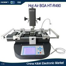 Бесплатная доставка Honton HT-R490 Горячего Воздуха BGA паяльная станция для ноутбука ремонт машины с три зоны нагрева