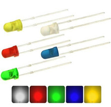 500pcs500Pcs 5mm LED diode Light Assorted Kit DIY LEDs Set White Yellow Red Green Blue