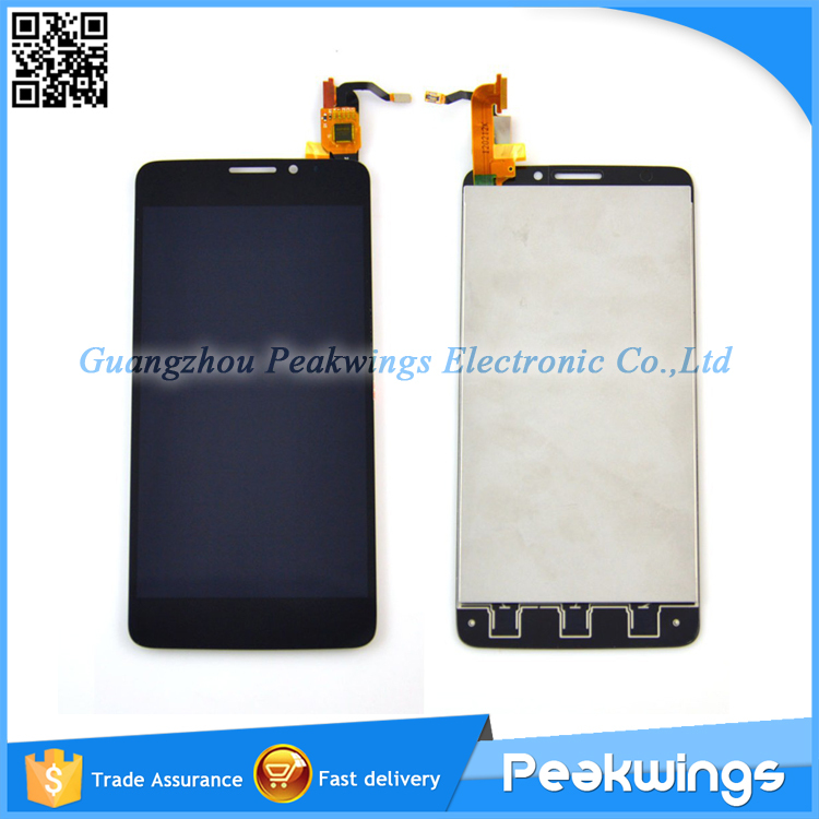 Wholesale Tested LCD Screen Digitizer Display For Alcatel One Touch Idol X OT6040 6040 6040D