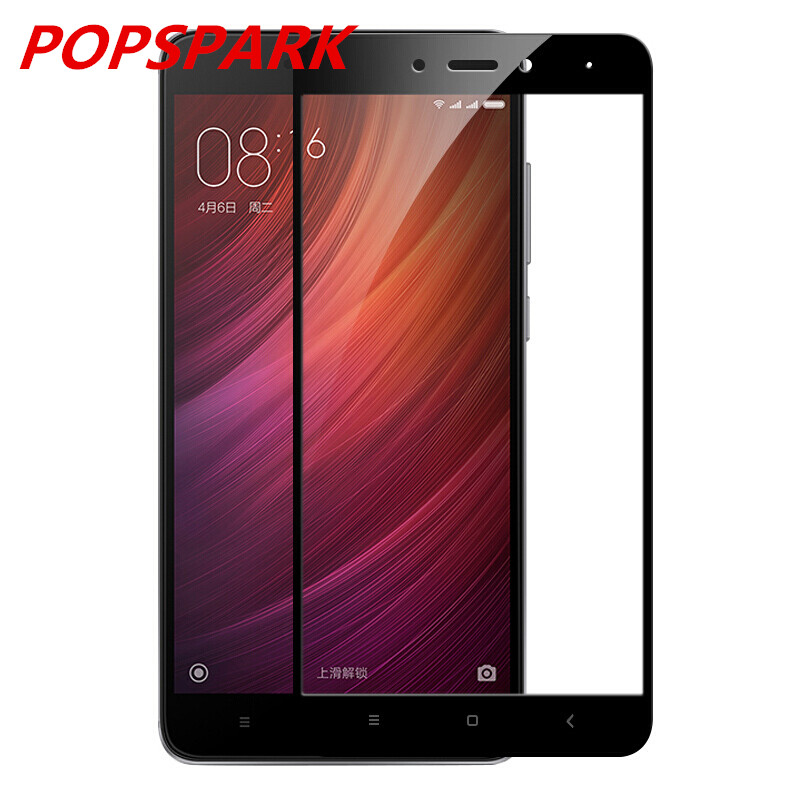 Tempered-Glass Global-Version Redmi Note-4 Snapdragon-625 Protective Full-Cover Xiaomi