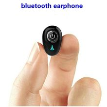 цена на Mini Bluetooth Earphone True Wireless Earbuds Business Invisible Handsfree In-Ear Earphones with Mic for cellphone
