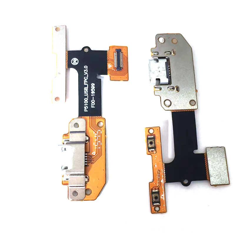 Para lenovo yoga tab 3 YT3-X50L YT3-X50f YT3-X50 YT3-X50m p5100_usb_fpc_v3.0 usb porto de carregamento doca conector plug cabo flexível
