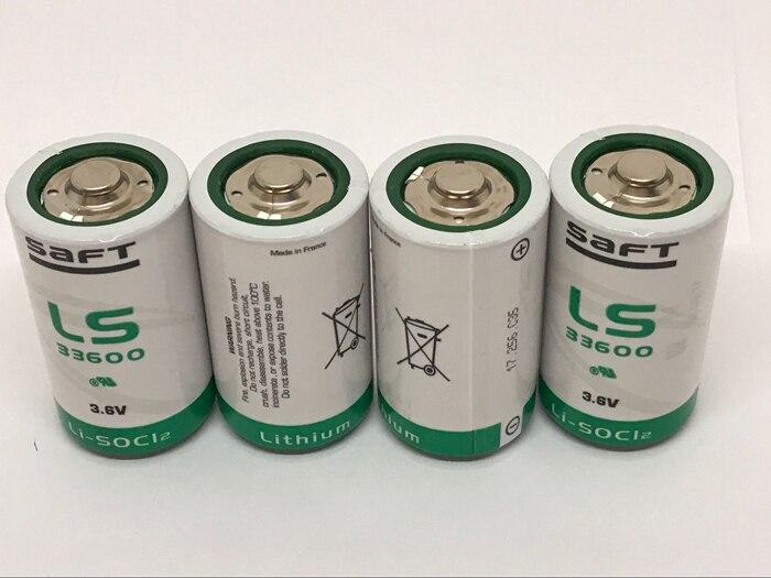 6 PCS/LOT neuf Original France SAFT LS33600 LS 33600 taille D 3.6V batterie au Lithium Non rechargeable (LS33600) Batteries PLC