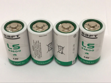 5PCS/LOT New Original France SAFT LS33600 D 3.6V Lithium Battery Non-rechargeable (LS33600) Batteries Free Shipping