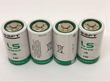цены на 5PCS/LOT New Original France SAFT LS33600 D 3.6V Lithium Battery Non-rechargeable (LS33600) Batteries Free Shipping в интернет-магазинах