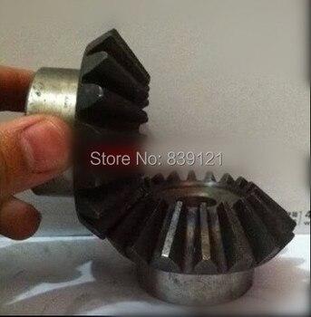 Металлическая Коническая Зубчатая Передача, тушение поверхности зуба на 90 градусов 1:1, 2M15