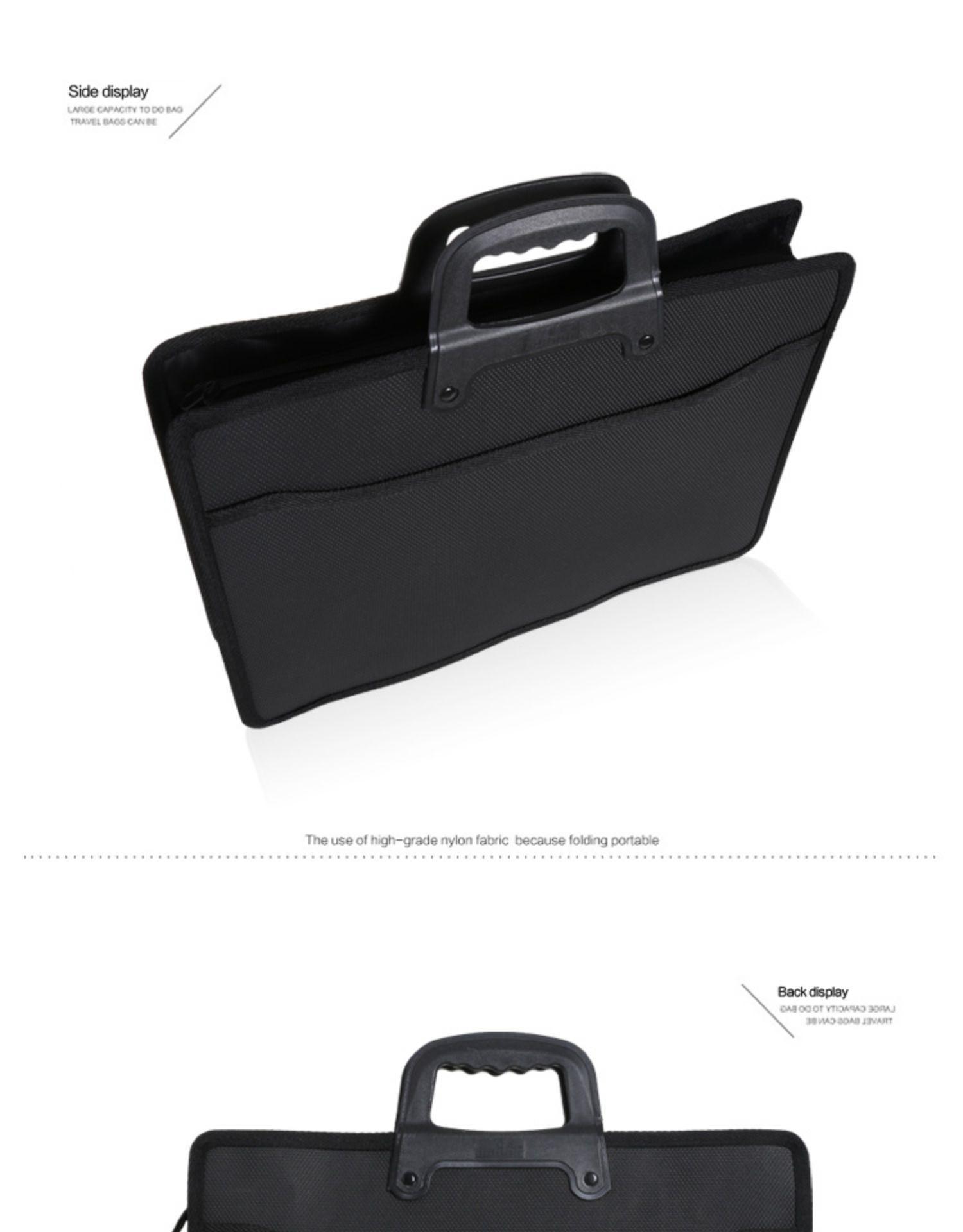HTB1be89XGSs3KVjSZPiq6AsiVXap Fashion file bag portable briefcase men business office bag trend package work bag file A4 conference bag Oxford waterproof
