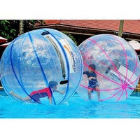 Popular Inflatable Water Zorb Ball For Pool 1.5M/2M Dia Water Walking Ball Beach Ball Human Hamster Ball With Cheap Price