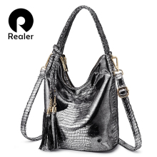 REALER messenger crossbody bags women fashion handbags femal