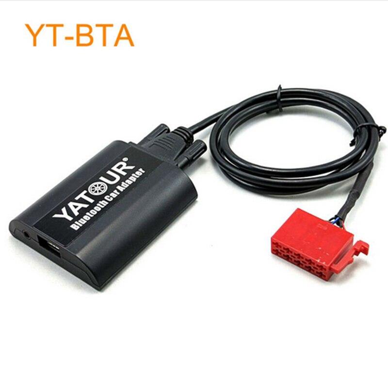 Yatour BTA voiture adaptateur Bluetooth pour voiture lecteur mp3 tête unité Radio commande pour Mercedes Benz 1994-1998 W202 C140 W140 V140 W210