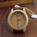 Fashion Brand Unisex Watches New Luxury Imitation Wooden  Women Men Vintage Leather Quartz Wood Color Dress Clock Bangle Gift
