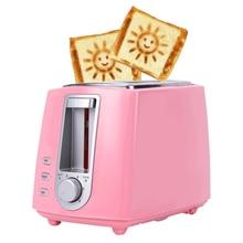 Тостер, духовка, нержавеющая сталь, электрический тостер, Бытовая Автоматическая хлебопечка, машина для завтрака, тост, сэндвич-гриль