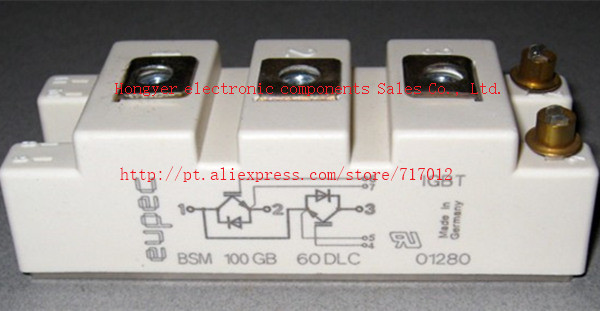 ФОТО Free Shipping BSM100GB60DLC No New(Old components,Good quality) IGBT Module:100A-600V,Can directly buy or contact the seller