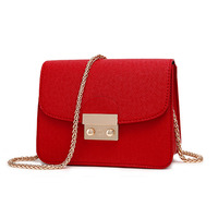2016 New Fashion Solid Color Small Package Portable Bag Women Crossbody Bags Ladies Shoulder Purse And