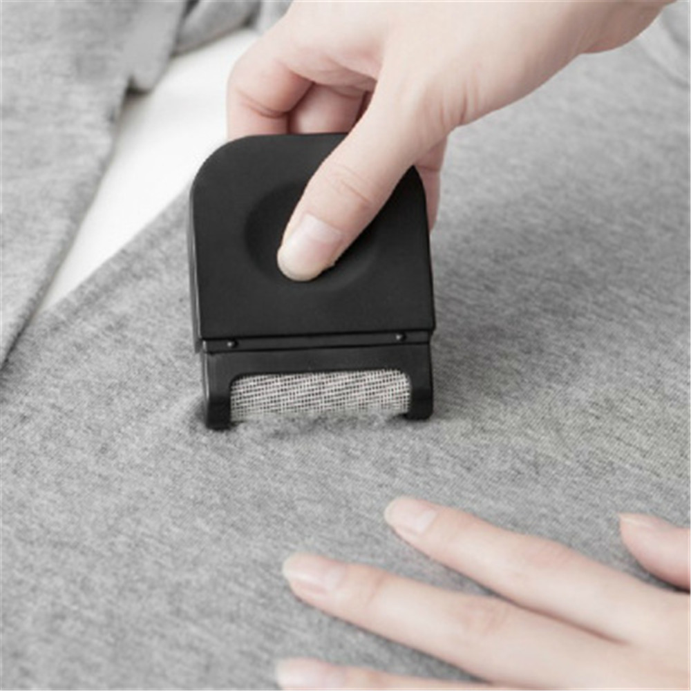 HOT mini Lint Remover Hair Ball Trimmer Fuzz Pellet Cut Machine portable Epilator Sweater Clothes Shaver Laundry Cleaning Tools messenger bag